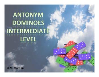 Antonym Dominoes Game - Intermediate Level