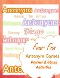 Antonym Games