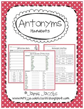 Antonym - Handouts
