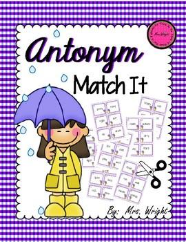 Antonym Match It Game