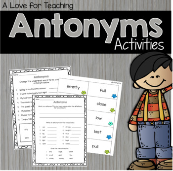 Antonyms Matching and More
