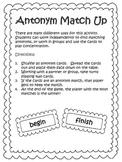 Antonym Match Up