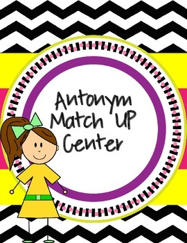 Antonym Match Up Center