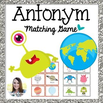 Antonym Match-Up Game
