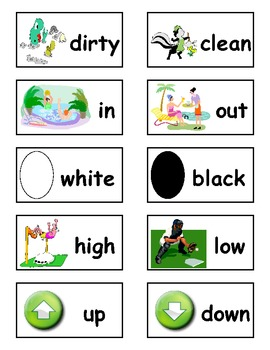 Antonym Match/Concentraction Game