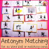 Antonyms - Matching Activity