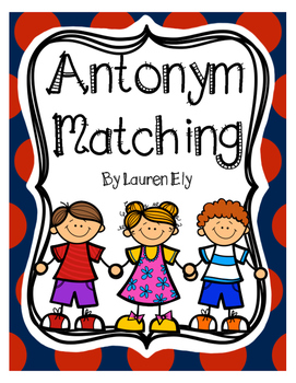 Antonym Matching Game