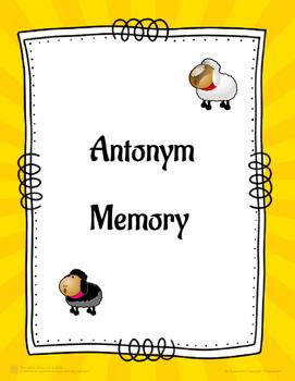 Antonym Memory