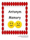 Antonym Memory for center work 2