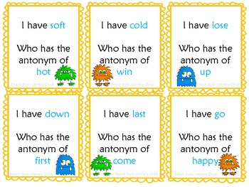Antonym Monsters