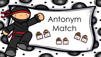 Antonym Ninja Match