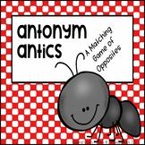 Antonyms File Folder Game - Matching Opposites, ELL and Preschool Learning