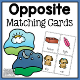 Opposites Matching Cards