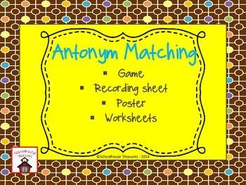 Antonym Pack