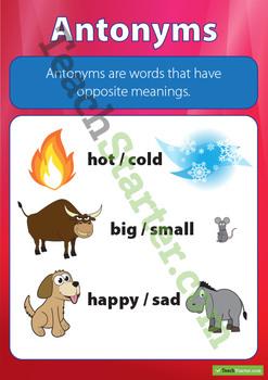 Antonym Poster