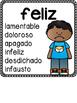 Antonym Posters in Spanish