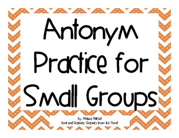 Antonym Practice for Small Groups (IREAD)