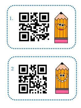 Antonym QR Code Task Card Center