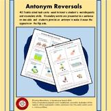 Antonym Reversal Sentences