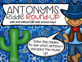 Antonym Round Up {Riddle Series}