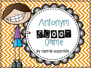 Antonyms SCOOT Game