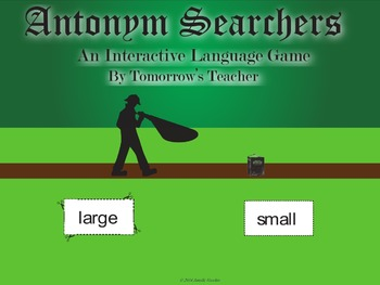 Antonym Searchers - An Interactive Language Game