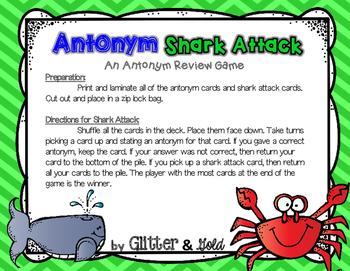 Antonym Shark Attack