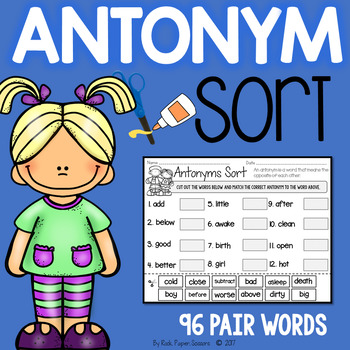 Antonym Sort