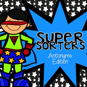 Antonyms Sorters: Word Cards for Matching Synonyms