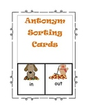 Antonym Sorting Cards