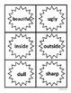 Antonym Splash: An Antonym Matching Activity -- Medium Level