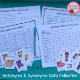 Speech Therapy Progress Monitoring | Antonym | Synonym | Assessment | Data
