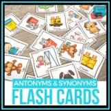 Antonym & Synonym Flash Cards