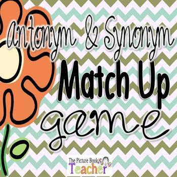 Antonym & Synonym Matach Up