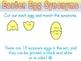 Antonym, Synonym, and Homonym Egg Match