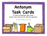 Antonym Opposite Task Cards