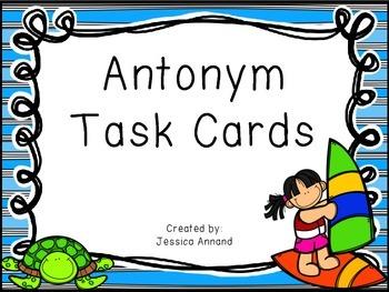 Antonym Task Cards / SCOOT