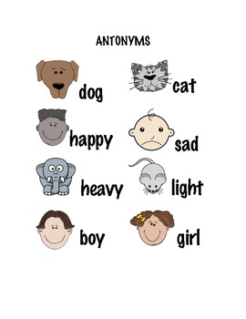 Antonym Visual