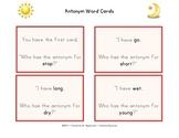 Antonym Word Cards Gr.1-3