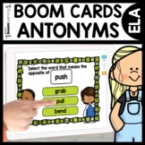 Antonym Word Practice Boom Cards Distance Learning