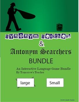 Antonym and Synonym Game Bundle