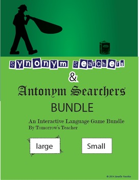 Antonym and Synonym Game Bundle