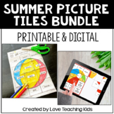 Antonym and Synonym Secret Picture Bundle Distance Learning
