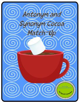 Antonym and Synonym Winter Match-up