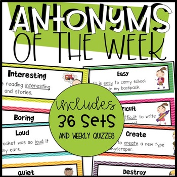 Antonym of the Week