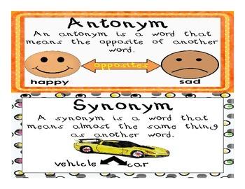 Antonym or Synonym?