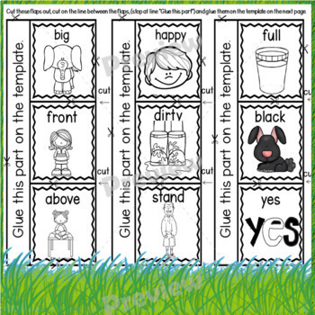 Antonyms ~ Kindergarten and First Grades