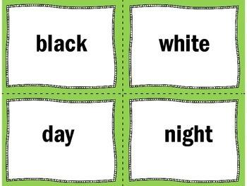 Antonyms Activity | Antonyms Game | Antonyms Literacy Center