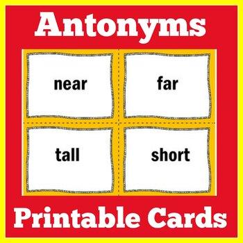 Antonyms Game | Antonyms Grade 1 | Antonyms Activity