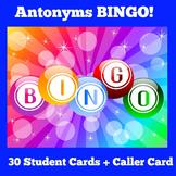 Antonym Games BINGO